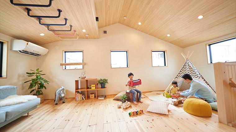 新モデルハウス 2Fファミリースペース